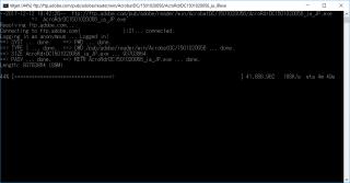 wgetとテキストファイルを利用してインターネットのファイルを一度にまとめてダウンロードする方法 (HTTP、HTTPS、FTPに対応)【共通編】